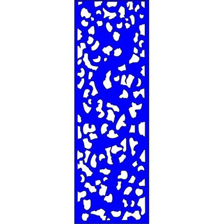 Cnc Panel Laser Cut Pattern File cn-l191 Free CDR Vectors Art
