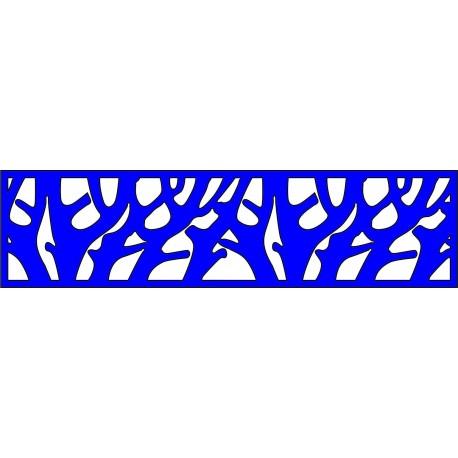 Cnc Panel Laser Cut Pattern File cn-l146 Free CDR Vectors Art