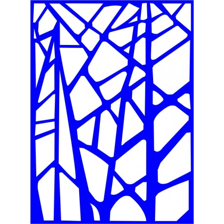 Cnc Panel Laser Cut Pattern File cn-l144 Free CDR Vectors Art