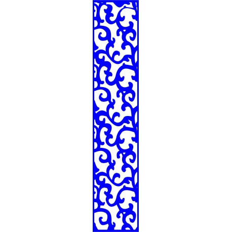 Cnc Panel Laser Cut Pattern File cn-l118 Free CDR Vectors Art