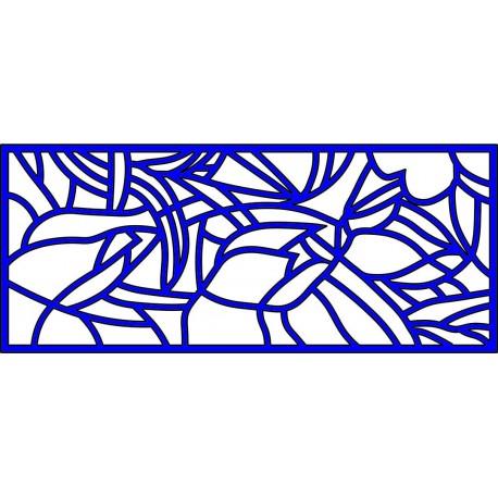 Cnc Panel Laser Cut Pattern File cn-l117 Free CDR Vectors Art