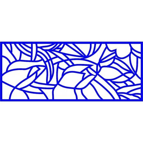 Cnc Panel Laser Cut Pattern File cn-l116 Free CDR Vectors Art