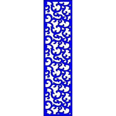 Cnc Panel Laser Cut Pattern File cn-l110 Free CDR Vectors Art
