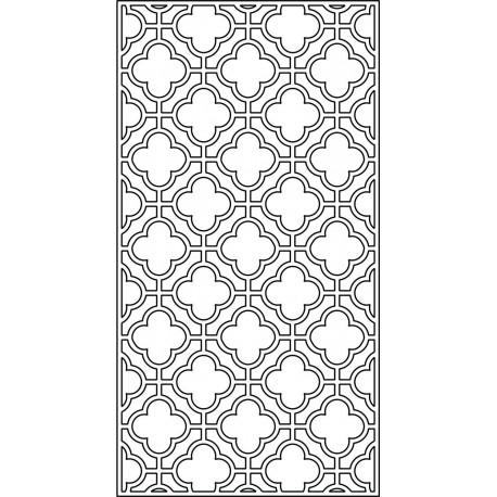 Cnc Panel Laser Cut Pattern File cn-l96 Free CDR Vectors Art