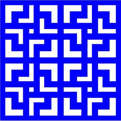 Cnc Panel Laser Cut Pattern File cn-l92 Free CDR Vectors Art