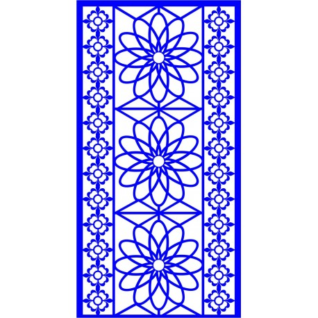 Cnc Panel Laser Cut Pattern File cn-l89 Free CDR Vectors Art