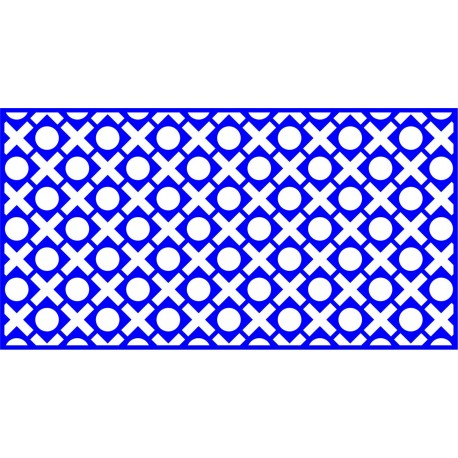 Cnc Panel Laser Cut Pattern File cn-l88 Free CDR Vectors Art
