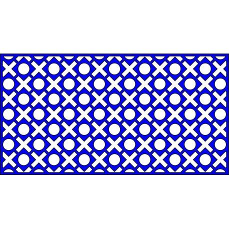 Cnc Panel Laser Cut Pattern File cn-l87 Free CDR Vectors Art
