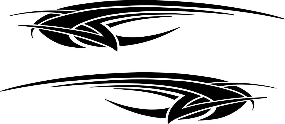 Car Decals Sticker Free CDR Vectors Art