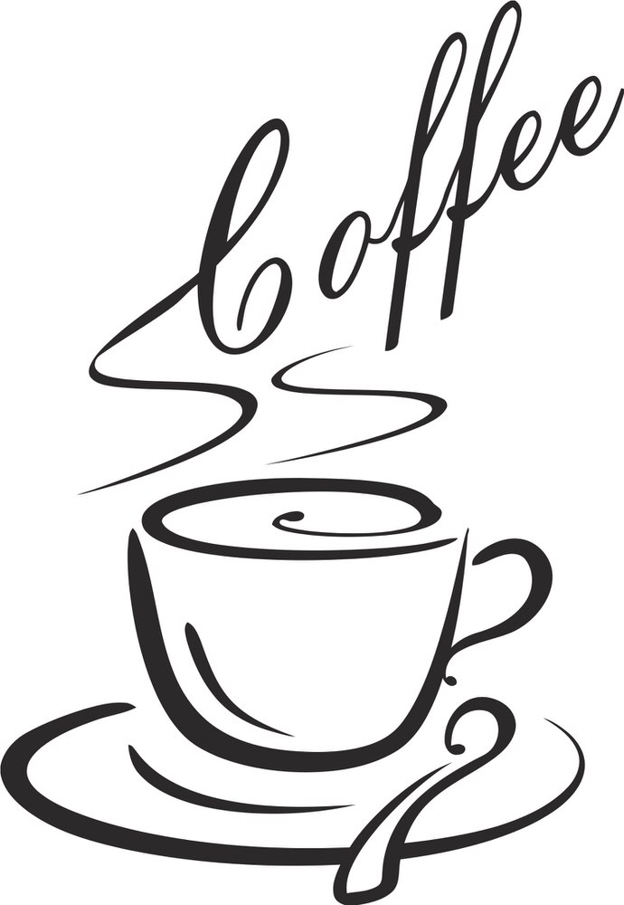 Hot Coffee Mug Free CDR Vectors Art
