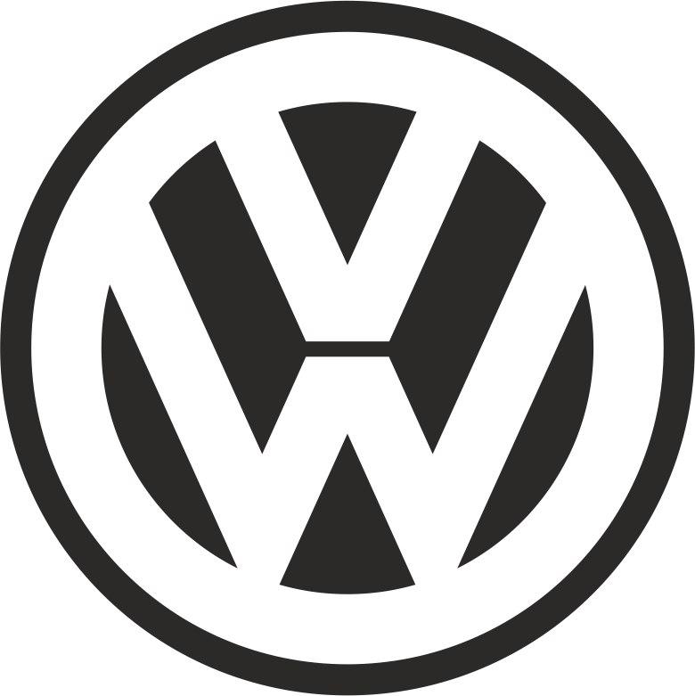 Volkswagen Logo simple Free CDR Vectors Art