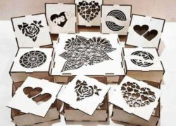 Box For Chocolates File Download For Laser Cut Free CDR Vectors Art