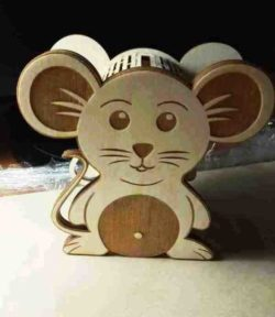 Mouse Box File Download For Laser Cut Free CDR Vectors Art
