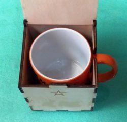 Mug Box File Download For Laser Cut Free CDR Vectors Art