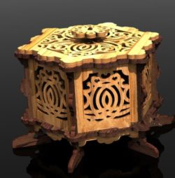 The Box Has A Lovely Lid File Download For Laser Cut Free CDR Vectors Art