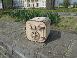 Wooden Cash Box File Download For Laser Cut Free CDR Vectors Art