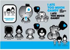 Candy Free CDR Vectors Art