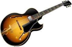 Guitar Free CDR Vectors Art