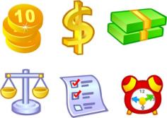 Free Vector Money Icons Free CDR Vectors Art