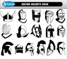 Free Vector Helmets Pack Free CDR Vectors Art