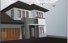 House Free CDR Vectors Art