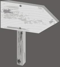 Wood sign Free CDR Vectors Art