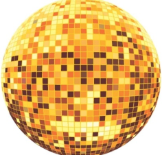 Disco ball Free CDR Vectors Art