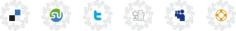 Curly Vector Social Icons Free CDR Vectors Art
