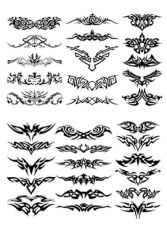 Tattoo Design Free CDR Vectors Art