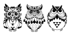 Owls Free CDR Vectors Art