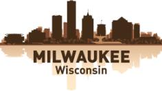 Milwaukee Skyline Free CDR Vectors Art