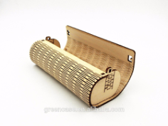Glasses Case Laser Cutting Free CDR Vectors Art