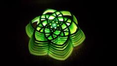 Flower Light Lamp Free CDR Vectors Art