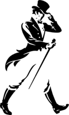 Johnnie Walker Silhouette Free CDR Vectors Art
