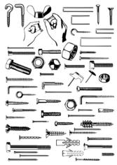 Hardware Free CDR Vectors Art