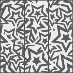 Star Seamless Pattern Free CDR Vectors Art