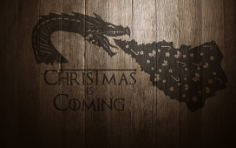 Cdr File Christmas Dragon Free CDR Vectors Art