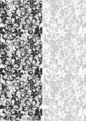 Seamless Flowers Sandblast Pattern Free CDR Vectors Art