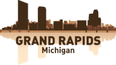Grand Rapids Skyline Free CDR Vectors Art