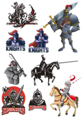 Knight Free CDR Vectors Art