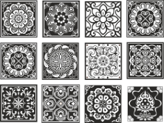 Chinese Pattern Design Free CDR Vectors Art