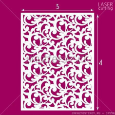 Die Cut Ornamental Panel Seamless Pattern Free CDR Vectors Art