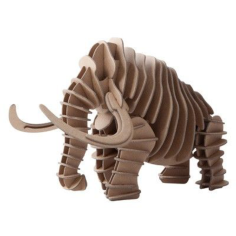 Mammoth 3D Puzzle Free CDR Vectors Art