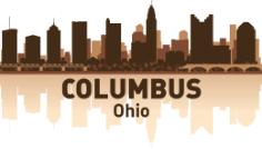 Columbus Skyline Free CDR Vectors Art