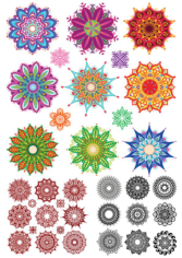 Indian Ornament Collection Free CDR Vectors Art