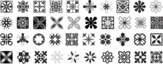 Decorative Ornaments Vector Pack Free CDR Vectors Art