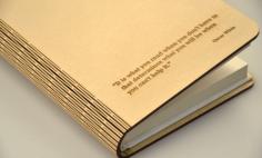 Lliving Hinge Book Cover Laser Cut Free CDR Vectors Art
