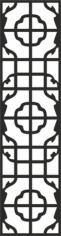 Black square continuous pattern Free CDR Vectors Art