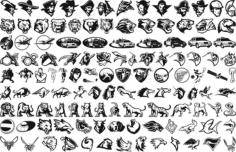 Mix Icons Free CDR Vectors Art