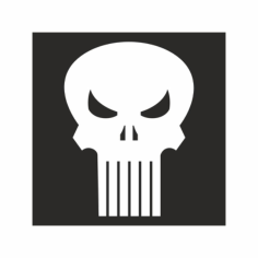 The Punisher Free CDR Vectors Art